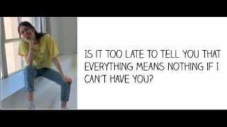 """""""If I Can't Have You""""   Cimorelli (Cover   Lyrics)"""