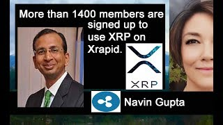 Ripplenet taking OFF! Navin Gupta Asia using Digital Asset XRP, XLM Stellar Killer Mobile App
