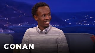 Barkhad Abdi Loved Working With Tom Hanks