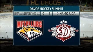 2018 Davos Hockey Summit: Metallurg Magnitogorsk - Dinamo Riga