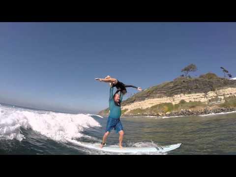 2014 11 09 Tandem Surfing Swamis – Travis Long & Ahlia Hoffman