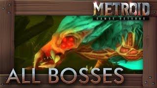 Metroid Samus Returns - All Bosses
