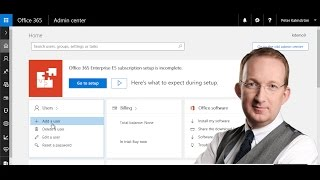 Office 365 from Scratch - Add a User