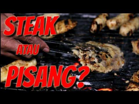 Video BuleKulineran  Pisang dipukul  enak juga ya - plenet makanan khas Semarang?  FVLOG #13