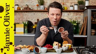 Chocolate Pots for the one you LOVE! | Valentine's Special | Jamie Oliver 😍😍😍