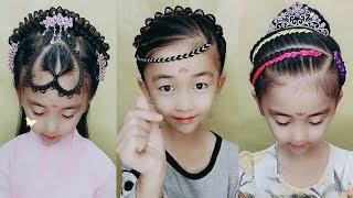 15 Easy Braid Hair For Little Girls 😱 Kids Braid Hairstyles Tutorial 😍 Beautiful Hairstyles Compil