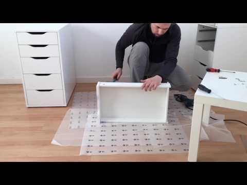 IKEA ALEX/LINNMON -- ASSEMBLING TIMELAPSE
