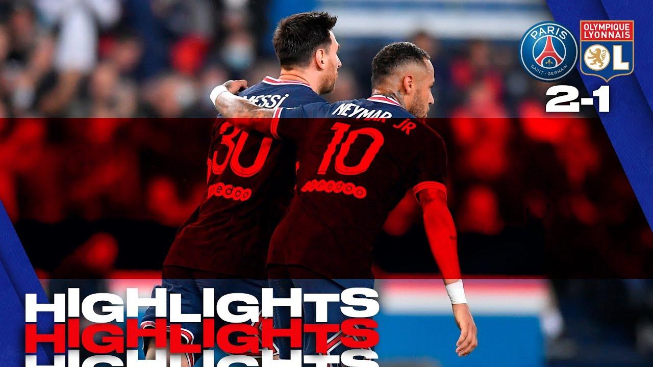 HIGHLIGHTS   Paris Saint-Gemain 2-1 Olympique Lyonnais