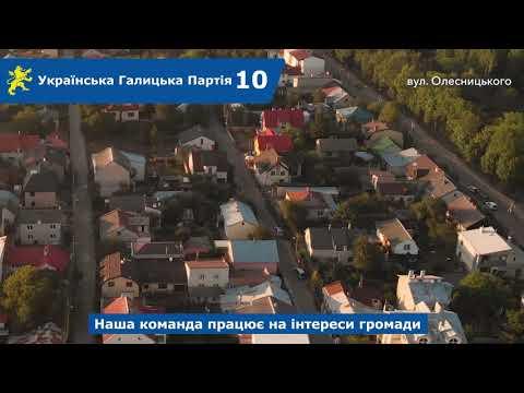 Над Левом: вул. Олесницького