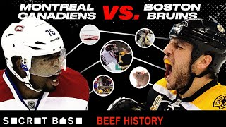 The Bruins-Canadiens beef featured a police investigation, death threats, and brawl after brawl thumbnail
