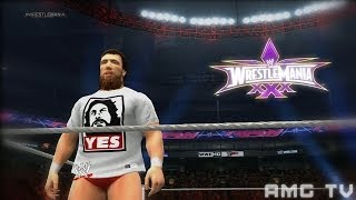 "WWE 2K Replication: Daniel Bryan WrestleMania 30 ""Monster"" Promo"