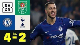 Blues Siegen Im Elfmeterschießen: FC Chelsea - Tottenham Hotspur 4:2 I.E. | Carabao Cup | Highlights