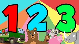 Counting Videos | Learn To Count From 1 - 20 For Kids