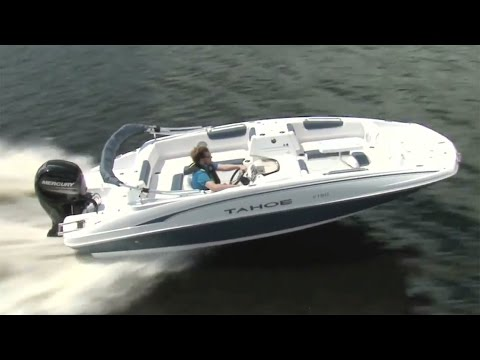 TAHOE Boats: 2017 2150 Full Review by Power Boat Television