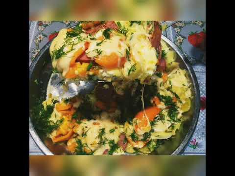 Беру картошку, 3 яйца, несколько помидор.....и вкусный завтрак, обед или ужин ЗА МИНУТЫ готов
