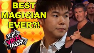 BEST MAGICIAN EVER?! Eric Chien BLOWS AWAY JUDGES With This Magic Act!