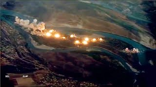 video: US obliterates 'Isil-infested island' with 40 tonnes of bombs