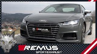 Video: Remus Komplettanlage am Audi TTS Typ 8S
