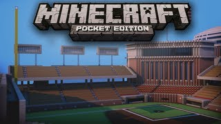 Huge Baseball Park - Minecraft Pocket Edition Map