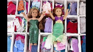 All My American Girl Doll Outfits!