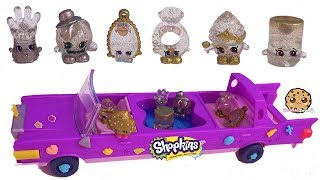Limited Edition Season 10 Shopkins!!! Cupcake Queen + Friends In Limo Car