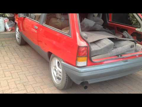 Vauxhall Nova SR 1.3 1985