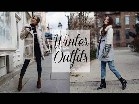 FALL TO WINTER STYLE TRANSITION | 5 Everyday Outfits!