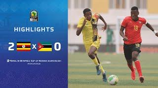 CAN U20 2021 | Groupe A : Ouganda 2-0 Mozambique