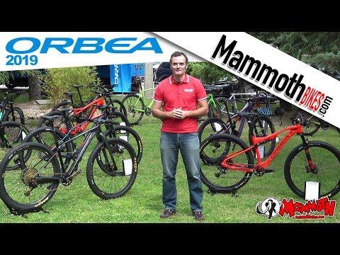 Bicis Orbea 2019 en Mammoth