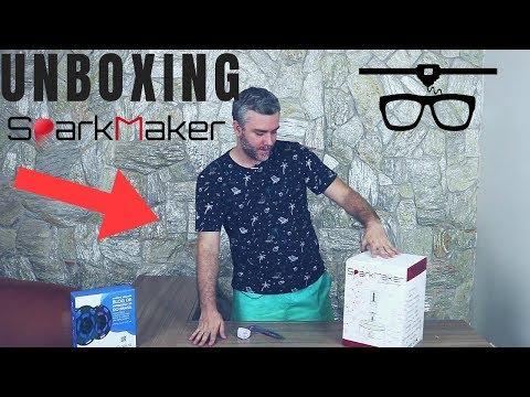 Unboxing Impressora 3D SLA SparkMaker - Resina