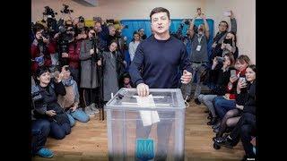Голосування кандидата на посаду  Президента Володимира Зеленського