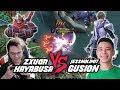 Zxuan Hayabusa VS JessNoLimit Top Global Gusion