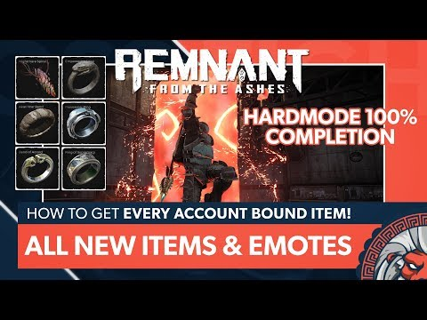 All NEW Rings, Amulets, and Emotes Hardcore Guide | Remnant: From the Ashes