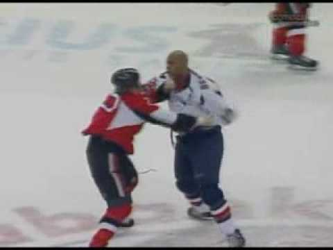Donald Brashear vs Chris Neil