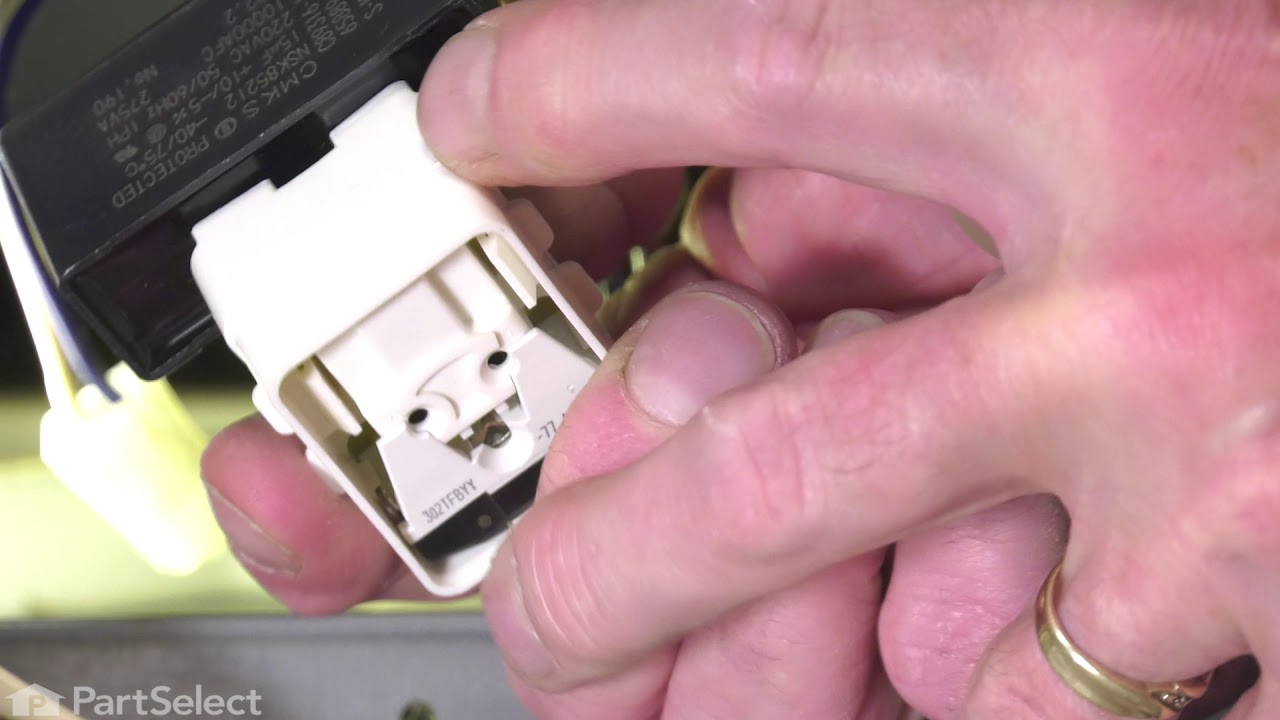 Replacing your Amana Refrigerator Compressor Start Device and Capacitor