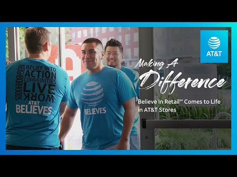 AT&T is Helping Fight Poverty in Dallas with Believe in Retail-youtubevideotext