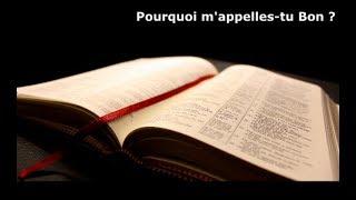 """SERIE. Contradictions bibliques. """"Pourquoi m"""