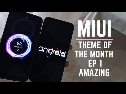 Miui 10 best theme of the month ep 1 / Android boot animation  / Hindi