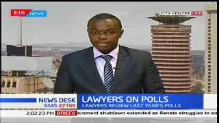 Lawyers review last years polls at the LSK colloquium