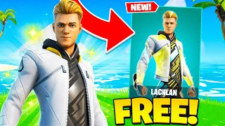 How To Get Lachlan Skin For FREE! (Fortnite Battle Royale)
