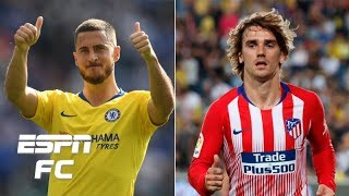 Could Chelsea's Eden Hazard and Atletico Madrid's Antoine Griezmann regret moving on?   Extra Time