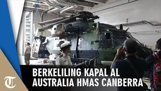 Berkeliling HMAS Canberra, Kapal Angkatan Laut Australia Pembawa Helikopter