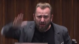 """Liroy-Marzec z mównicy - """"jesteście idiotami!"""" Ostro o dopalaczach w sejmie"""