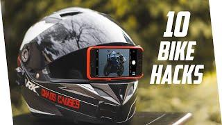 10 Motorcycle Life Hacks