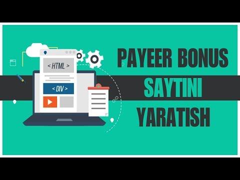 PAYEER BONUS SAYTINI YARATISH/ RECAPTCHA BANNER PAYEERNI ULASH