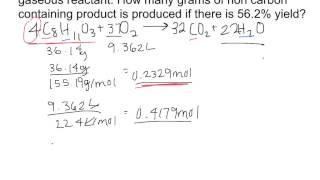 Limiting Reagent Problem 2