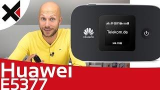 Huawei E5377 Mobile WiFi Erster Eindruck & Einrichten   iDomiX
