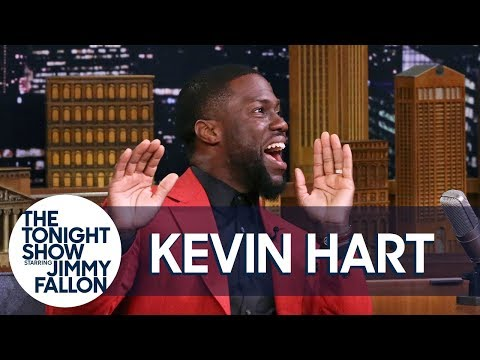 Kevin Hart Took a Nasty Fall Doing His Heel-Toe Hop Dance at a Wedding (видео)