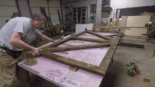 DIY Barn Wood Barn  Door !