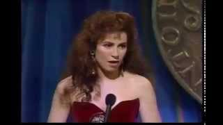 Debbie Shapiro wins 1989 Tony Award for Best Featured Actress in a Musical